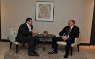 Prezident İlham Əliyev Davosda bir sıra görüşlər keçirib