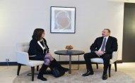 """İlham Əliyev """"Microsoft Corporation"""" şirkətinin vitse-prezidenti ilə görüşdü"""
