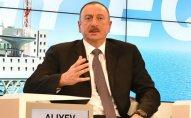 İlham Əliyev Davosda ölkədə baş verən aksiyalardan danışdı  - VİDEO