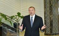 Prezident Mir Cəlal Paşayev adına məktəbin açılışında iştirak etdi