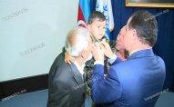 Şəhid kapitanın medalı 4 yaşlı oğluna verildi