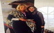 Qənirə Paşayeva qadınların qlobal forumunun prezidenti ilə görüşüb