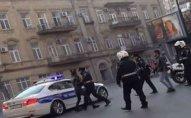 Polis xidməti avtomobillə piyadanı vurdu   - Bakıda