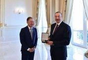 İlham Əliyev Türkiyə, Qazaxıstan və Qırğızıstan parlament sədrlərini qəbul edib