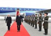Azərbaycan prezidenti Naxçıvanda FOTO