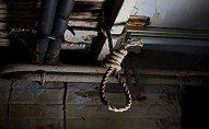 Bakıda tikilidən asılmış kişi meyiti tapıldı