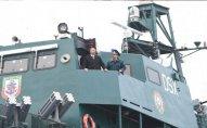 İlham Əliyev DSX-nın inşası başa çatan gəmisi ilə tanış olub — FOTO