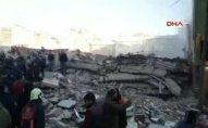 Türkiyədə bina çökdü
