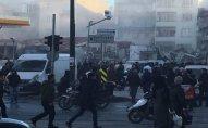İstanbulda bina çöküb: 2 ölü, 17 yaralı