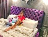 Röya yataqda elə fotosunu paylaşdı ki... - FOTO