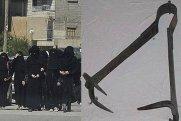 DƏHŞƏT: İŞİD-çi qadınlar 13 yaşlı qızı anasının gözləri qarşısında doğradılar