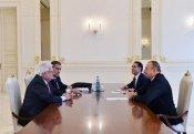 İlham Əliyev vitse-prezidenti qəbul etdi