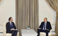 İlham Əliyev Dünya Bankının vitse-prezidentini qəbul etdi