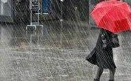 Bəzi rayonlarda intensiv yağış yağacaq