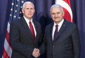 Türkiyənin baş naziri və ABŞ-ın vitse-prezidenti arasında telefon danışığı olub