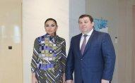 Mehriban Əliyeva Pyotr Qlıboçko ilə görüşdü