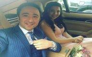 Azərbaycanlı müğənni nişanlandı - FOTO
