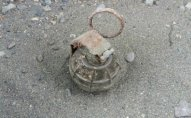 Polis Şöbəsinin silah anbarından Serbiyanın əl qumbarası çıxdı