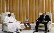 İlham Əliyev Mali prezidenti ilə görüşdü