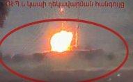 Erməni ordusunun montaj əməliyyatı: Vurulan mülki obyektdir!