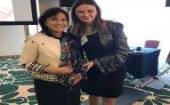 Qənirə Paşayeva Filippinin vitse-prezidenti xanım Leni Robredo ilə görüşüb