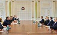 İlham Əliyev Avropa Parlamentinin nümayəndə heyətini qəbul etdi