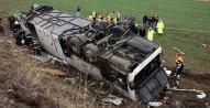 Türkiyədə avtobus aşıb: 8 nəfər ölüb