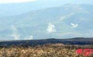 Ermənilər Ağdamın işğal altında olan ərazilərinə od vurub