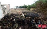 Ermənilər Ağdamın işğal altında olan kəndini yandırdı - FOTOLAR
