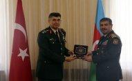 Zakir Həsənov Türkiyə Quru Qoşunları komandanı ilə görüşdü