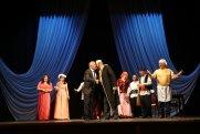 Qax Xalq Teatrı Bakıda Üzeyir Hacıbəyovun