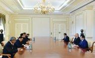 İlham Əliyev Laosun xarici işlər nazirini qəbul edib - YENİLƏNİB