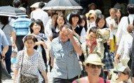 Yaponiyada 700 nəfər günvurma diaqnozu ilə xəstəxanalara yerləşdirilib
