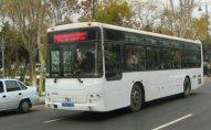 Bu avtobusun hərəkət istiqaməti dəyişdi - VİDEO
