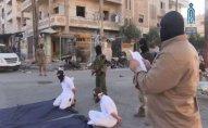 İŞİD-çilər əhalinin gözü önündə edam edildi
