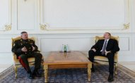 İlham Əliyev Belarus Dövlət Sərhəd Komitəsinin sədrini qəbul edib