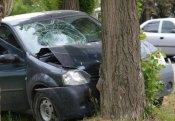 Avtomobil ağaca çırpıldı - Ölən və yaralanan var