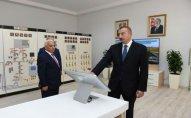 """İlham Əliyev """"Neftçala"""" yarımstansiyasının açılışında iştirak edib"""