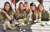 İsrailin qadın hərbçiləri – FOTO
