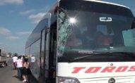 Sumqayıtda avtobus qəzaya düşdü: 7 yaralı