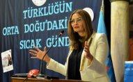 Qənirə Paşayeva Türkiyədə konfrans keçirib