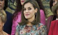 İspaniya kraliçası 90 dollarlıq don geyindi - FOTO
