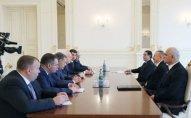 İlham Əliyev Ukrayna baş nazirinin birinci müavinini qəbul etdi