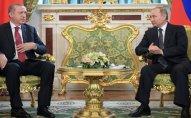 Ərdoğanla Putin Suriyadakı vəziyyəti müzakirə ediblər