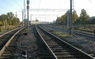 İlk yük qatarı Bakı-Tbilisi-Qars dəmir yolu xətti ilə yola salınıb