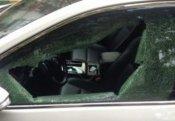 Lerikdə içərisində 4 nəfərin olduğu avtomobil dərəyə aşdı
