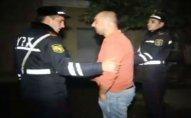 Bakıda reyd: Sərxoş sürücü hədə-qorxu gəldi – VİDEO