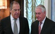 Lavrov və Tillerson dekabrın 7-də Vyanada görüşəcək