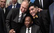 Rusiya prezidenti Pele, Maradona ilə görüşüb
