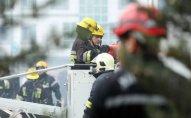 Paytaxtda yaşayış binasında YANĞIN: 34 nəfər təxliyə edildi